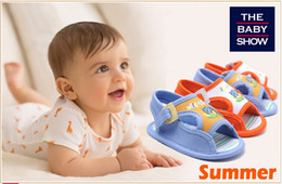 Wholesale Shoes For Male Babies - HOT !Male baby sandals baby shoes shoe socks booties for children kid girls infant toddler Baby shoes booties fabric sole prewalkers Popular