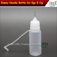Wholesale Ldpe For Vape Liquid - 10 ml (2 3 oz) Plastic Dropper Bottles With Needle Caps & Safe Tips LDPE For E Cig Atomizer Vapor Vape Liquid Soldering Flux Ink Free Ship