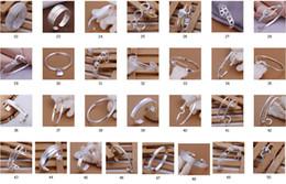 посеребренные смешанные браслеты Скидка 50 стиль бесплатно смешанный заказ 8