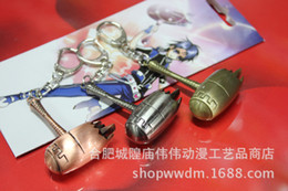 Wholesale Dancing Plush - Douro mainland Haotian hammer hammer keychain pendant wholesale Tang wholesale anime wholesale surrounding a small dance