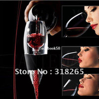 Wholesale Filter Red Wine - Free Shipping+Wholesale+Portable Wine Magic Decanter,Red Wine Aerator Essential,Bag Hopper And Filter