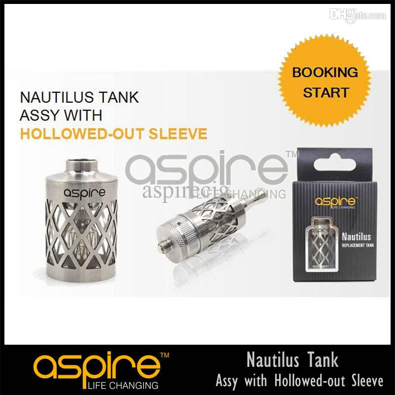 Partihandel - Aspire 2014 Senaste Nautilus Tank Assy med Holled Out Sleeve Ny Nautilus Tank Gratis frakt