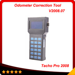 Wholesale tacho pro for bmw - Universal Dash Programmer Tacho Pro 2008 UNLOCK JULY version Odometer Correction Mileage tacho multi-language In stock