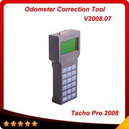 Wholesale Professional Tacho Pro - 2016 hot sale professional super tacho pro 2008 Odometer correction tool Tacho V2008 Multi-language free shipping