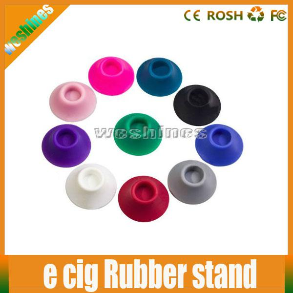 display Holder Ego Battery Silicone Sucker E Cigarette Ego Battery Base Stand Fit For Ego Battery E Cig CE4 CE5 Atomizer With Mixed Colors