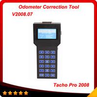 Wholesale tacho dash - Tacho 2008 Universal dash programmer 2008 tacho pro unlock version high quality and multi-langauge Free Shipping