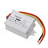 Wholesale car led drivers - 1pcs Waterproof CAR LED Power Supply Driver Transformer Silver V to V A