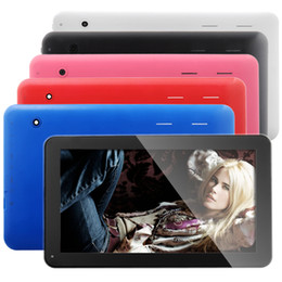 Wholesale Tft Lcd Tablet - 10.1 Inch Tablet Dual Core Android 4.2 TFT LCD Capacitive Touch Screen Tablet PC WiFi Dual Camera Blue Color
