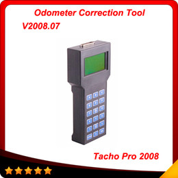 Wholesale Tacho Dash - Tacho pro 2008 Odometer Correction Universal Dash Programmer Unlocked version 2008.07 free shipping
