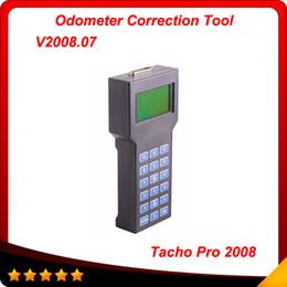 Wholesale Tacho Pro Odometer Correction Dash - Tacho pro 2008 Odometer Correction Universal Dash Programmer Unlocked version 2008.07 free shipping