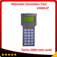 Wholesale tacho universal for mileage correction - 2016 Free shipping Speedometer Adjusting Tool Universal tacho main unite universal 2008 multi-language Tacho pro 2008 hot sell In stock