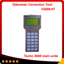 Wholesale french language tools - 2016 Free shipping Speedometer Adjusting Tool Universal tacho main unite universal 2008 multi-language Tacho pro 2008 hot sell In stock