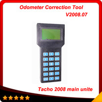 Wholesale Tacho Programmer Odometer Correction - 2016 Unlock Version Odometer Correction Universal Programmer Super TACHO PRO 2008 main unite multi-language free shipping