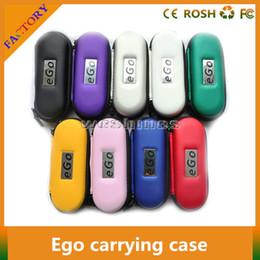Ego T Protank Australia - 300pcs ego ce4 starter kit Ego cases e cig zipper cases carrying case small size for ego t ego vv evod ce4 ce5 ce4+ce5+ protank E cigarette
