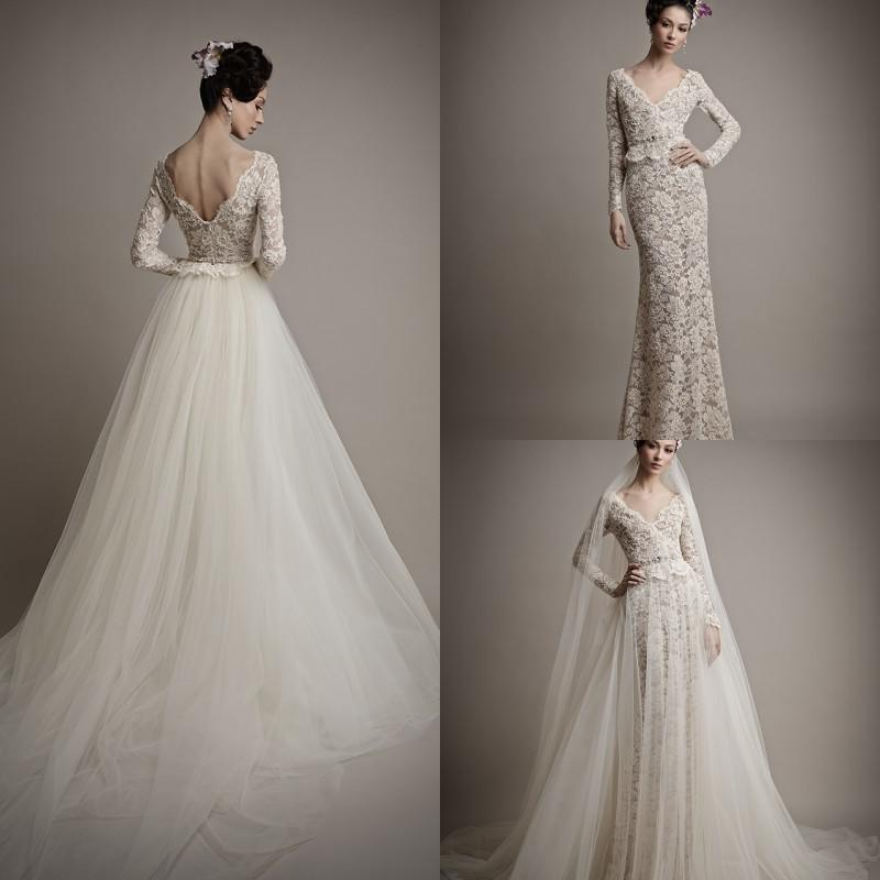 Discount ersa atelier wedding dresses detachable fashion new v see larger image junglespirit Choice Image
