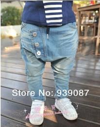 Wholesale Harem Children Jeans - retail 2014 Hot sale New arrive Baby Kids Clothing Children's pants Boy's Harem Pants PP jeans child pants trousers