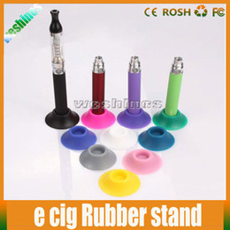 Argentina Display Holder Ego Battery Silicone Sucker E Cigarette Ego Battery Base Stand Fit para Ego Battery E Cig CE4 CE5 Atomizer With Mixed Colors cheap atomizer sucker Suministro