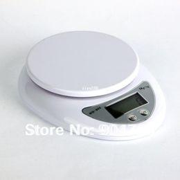 Wholesale 5kg Digital Scale - 1Pcs 5kg 5000g 1g Digital Kitchen Food Diet Postal Scale Weight Balance Household Scales