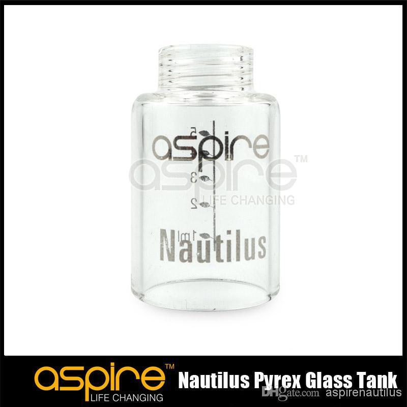Toptan Satış - Aspire Nautilus hava akımı kontrol Tank Sistemi güvenlik kodu ile Orijinal aspire nautilus yedek pyrex cam tankı