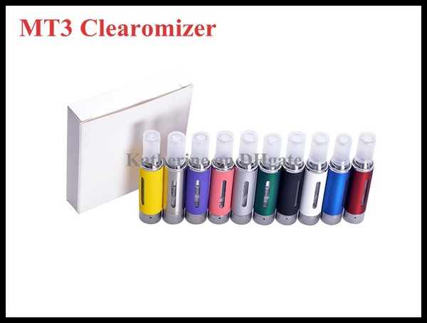 eGo MT3 Atomizer EVOD Clearomizer Newest eGo D Cartomizer Multi-color Tank for Electronic Cigarette E Cigarette E Cig Kit EVOD eGo-T Battery