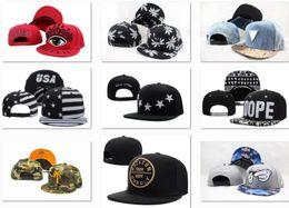 Wholesale Custom Embroidered Snapbacks - New Snapback hats Fashion Street Headwear adjustable size custom snapbacks caps drop shipping top quality Ball Caps more hats can mix