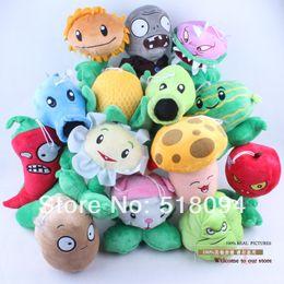 "$enCountryForm.capitalKeyWord Canada - Free Shipping PVZ Plants vs. Zombies Soft Stuffed Plush Toys Dolls 14pcs set 7""18CM ANPT141"