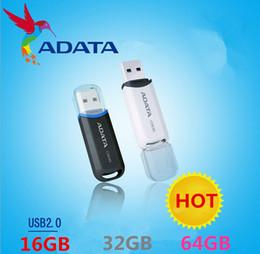 Wholesale Adata 16gb Usb Flash Drive - USB FLASH ADATA 16GB 32GB 64GB C906 Superior Capless Sliding AC906 C906 USB C906 2.0 Retractable Flash Drive Classic Series Pen Memory 02