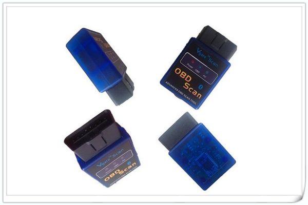 Free DHL Elm327 Wireless Bluetooth V1.5 Mini BT ELM 327 CAN bus OBD2 OBDII EOBD CAN-BUS Scanner code reader Diagnostic Auto TOOL B
