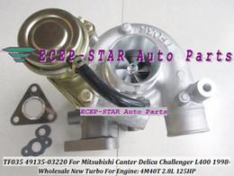 Venta al por mayor de TF035-2 49135-03220 49135 03220 ME202879 4913503220 Turbo Turbocompresor para MITSUBISHI Canter Delica Challenger L400 1998- 4M40 4M40T 2.8L