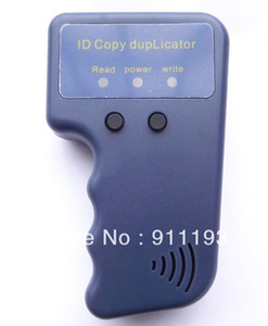 Handheld 125Khz RFID Copier Writer   Duplicator Copy ID Card+ 10pcs EM4305 T5577 Rfid Tag