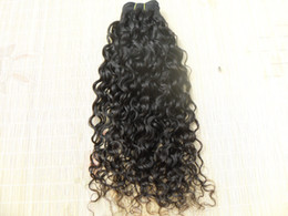 Curly Human Hair Can Dyed Canada - new star brazilian curly hair weft queen hair curlyl weaves unprocessed natural black color curl human extensions can be dyed