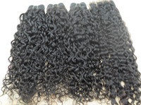 Wholesale wavy permed hair - brazilian human virgin remy loose wave hair weft natural black unprocessed baby soft wavy hair extensions g bundle can match with closure