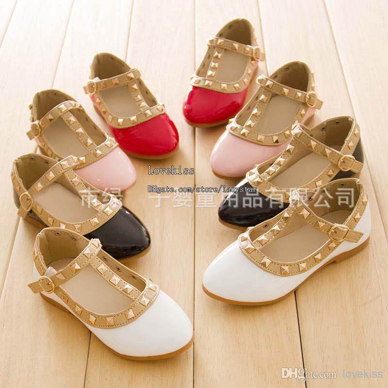 Girls Dress Shoes Kids Leather Shoes Children Shoes Kids Footwear ...