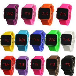 Wholesale Jelly Rubber Womens Wrist Watch - Wholesale 10pcs Silicone Rubber Jelly Ion Unisex Mens Womens Boys Girls Sports Bracelet 12 colors to select Wrist Watches.