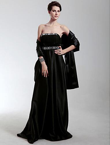 Hot Sale Stretch Satin Wrap Shawl New Style Special Occasion Women Formal Dresses Shrugs Wedding Wraps