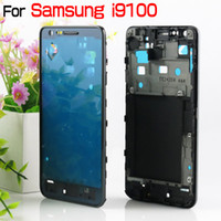Wholesale Galaxy S2 Housing Bezel - For Galaxy S2 I9100 Front Housing I9100 Middle Frame Bezel Black Silver
