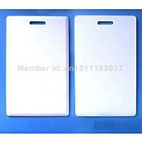 Wholesale Proximity Card Copy - 50pcs writable RFID card Rewrite 125KHz EM4305 Thick Card For Writer Copier duplicator for Access Control Card Copy