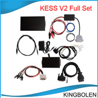 Wholesale kess v2 - Newest version chip tuning tool KESS V2 OBDII Manage Tuning Tool High quality kess V2 DHL Free shipping