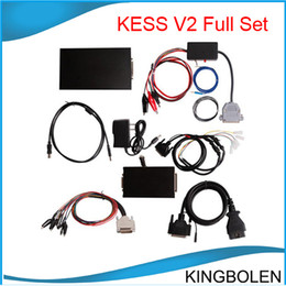 Wholesale Ecu Tuning Tools - Newest version chip tuning tool KESS V2 OBDII Manage Tuning Tool High quality kess V2 DHL Free shipping