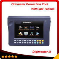 Wholesale Digimaster Tools - 2016 Super Digimaster 3 odometer correction tool digimaster iii with 980 Tokens 100% original update online directly DHL Free Delivery