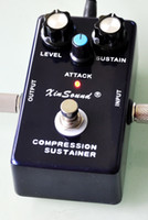 Suono vintage CS-50 Dyna Compressor Sustainer Punchy Attack Qualità Costruisci True Bypass di XinSound