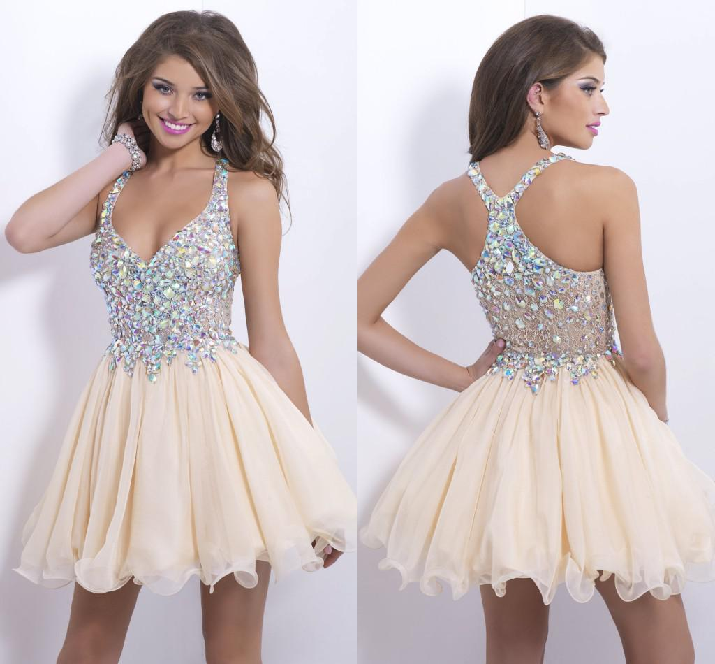 Short Bling Dresses