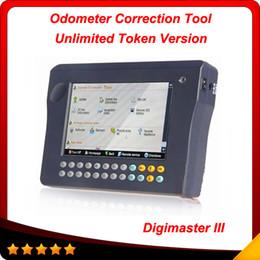 Wholesale Online Odometer - Free Shipping Online update digimaster 3 Unlimited Token version Digimaster III Odometer Correction Master obd04