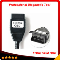 Wholesale Top Selling Diagnostic Reader - 2016 Top selling Professional diagnostic interface ford vcm obd multi-language ford-vcm obd Super scanner free shipping