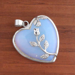 blue vintage lockets fire glass locket opal pin