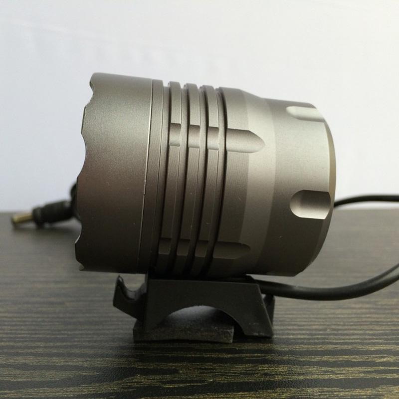 4XCree XM-L T6 4800 لومينز 4 طرق الدراجة الخفيفة دراجة الجبهة مصباح المصباح كشافات + 6400mAh بطارية حزمة