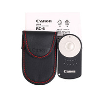 Wholesale Eos 7d - RC-6 RC6 Wireless IR Remote Control for Canon EOS 450D 500D 550D 600D 7D 60D 5DII 5DIII