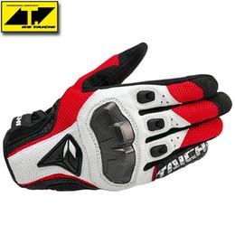 Wholesale Rs Taichi Gloves - RS-TAICHI Moto Racing Gloves RST391 motorcycle gloves motocross motorbike glove carbon fiber gloves leather glove 3 kinds color SIZE M L XL