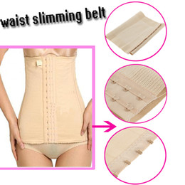 Slim Tummy Belt Canada - 5pcs Promotion High Quality Body Tummy Slimming Band Belt Waist Cincher Shaper Free Shipping