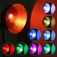 Wholesale 9w Color Changing Led Bulb - E27 9W Remote Control Color Changing LED Light Bulb RGB Color Lamp 100 - 240V AC